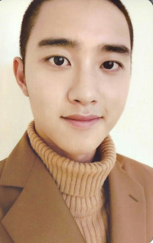 """[SCAN] #EXO Photocard - """"Universe"""" #DO"""