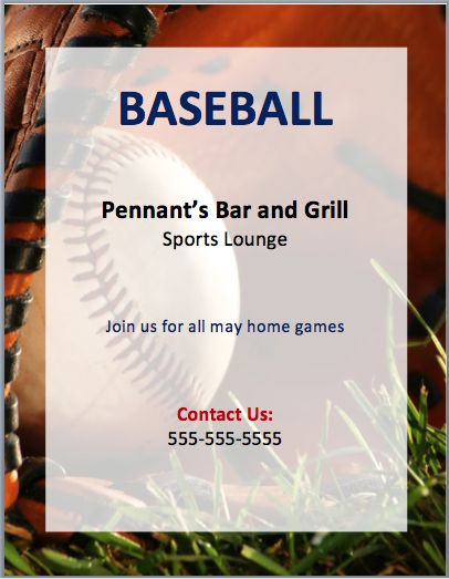 56 best Free Flyer Designs images on Pinterest Free flyer design - baseball flyer