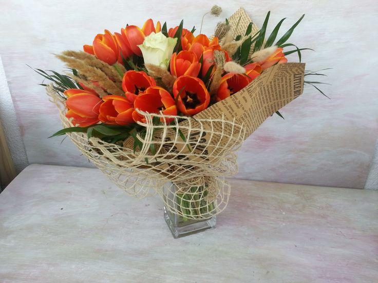 #lovetulips #bouquet #spring
