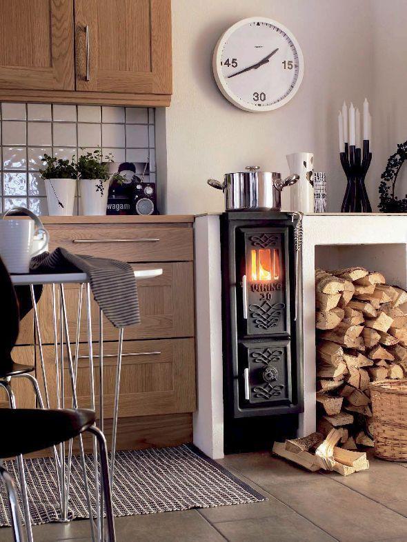 31 best Küchenherde images on Pinterest Fireplace heater, Draw - holzofen für küche