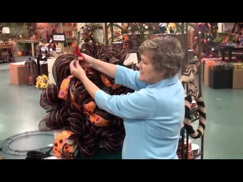 Make a Mesh Witch Wreath