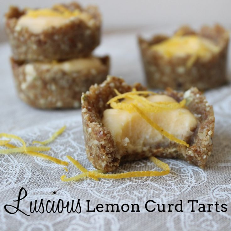 This healthier version of Lemon Curd Tarts means they are gluten, grain, dairy and refined sugar free. Enjoy!