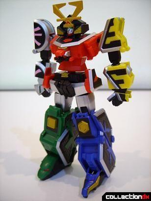 Super Robot Chogokin Shinken-Oh (front)