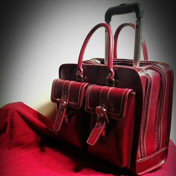 Franklin covey small rolling laptop case New condition Bags Laptop Bags