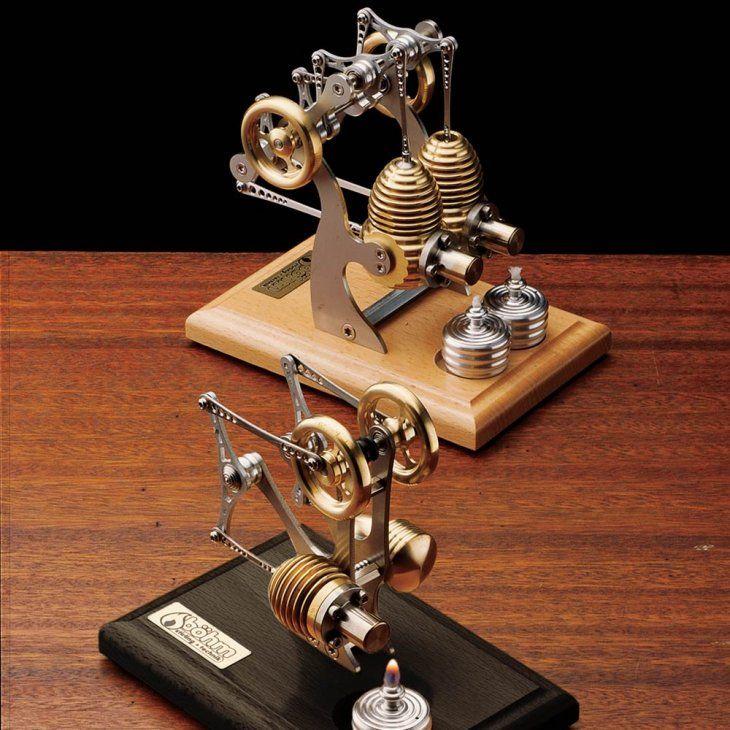 Classic precision stirling engine by garrett wade car