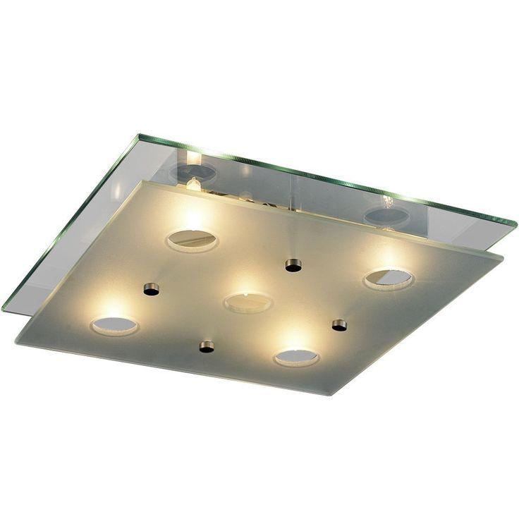 Jago BADL01-3 illuminazione lampadari lampada da bagno: Amazon.it: Illuminazione