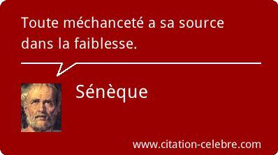 Sénèque :