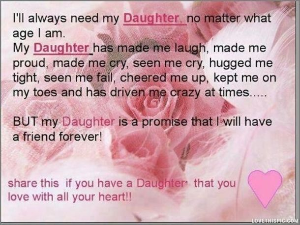 Daughter Quotes For Facebook: Best 25+ My Daughter Quotes Ideas On Pinterest