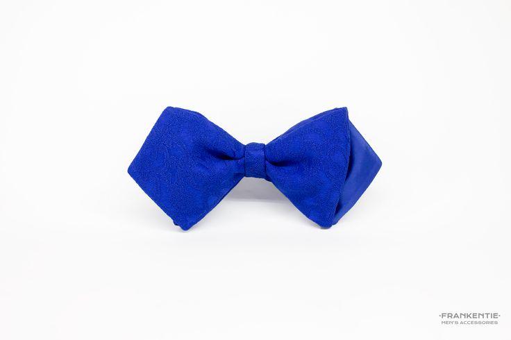 Mr. Big Blue II, self tied bow tie, www.frankentie.com