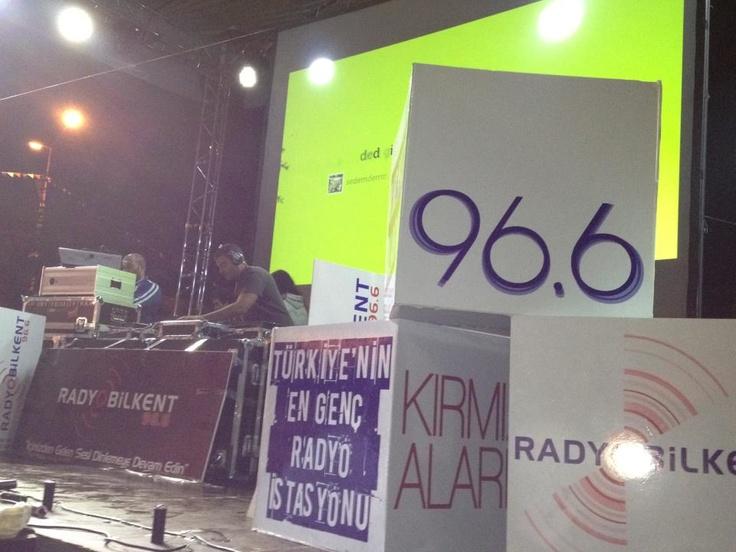 Radyo Bilkent Açık Hava Partisi fotoğrafları...