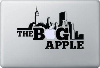 Sticker The Big Apple New York pour MacBook Pro et Air 13, 15 pouces [ by Stickers &Co ] Autocollant Mac Apple Decal Personnaliser Ordinateur Portable - https://streel.be/sticker-the-big-apple-new-york-pour-macbook-pro-et-air-13-15-pouces-by-stickers-co-autocollant-mac-apple-decal-personnaliser-ordinateur-portable/