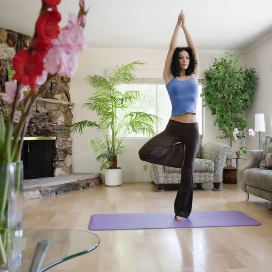 Flow through this short and sweet 20-minute yoga sequence — with its own playlist!