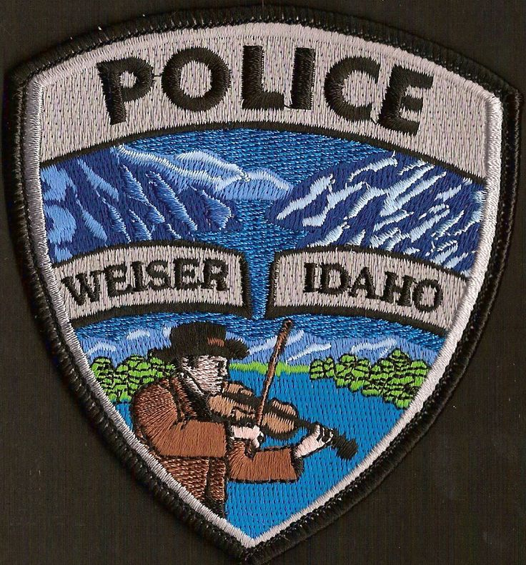 Weiser, Idaho Police patch Law Enforcement Badges and