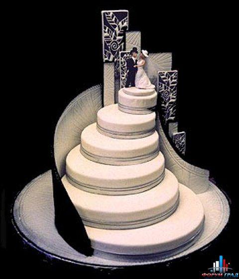 С каждым ярусом все больше захватывает дух - Про свадебные торты все расскажем вам – узнайте об «изюминке» свадебного торжества - Форум-Град
