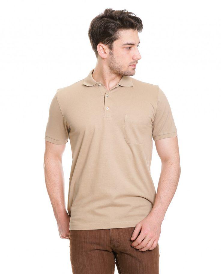 Karaca Erkek T-Shirt - Bej #safari #mensfashion #tshirt #karaca #ciftgeyikkaraca www.karaca.com.tr