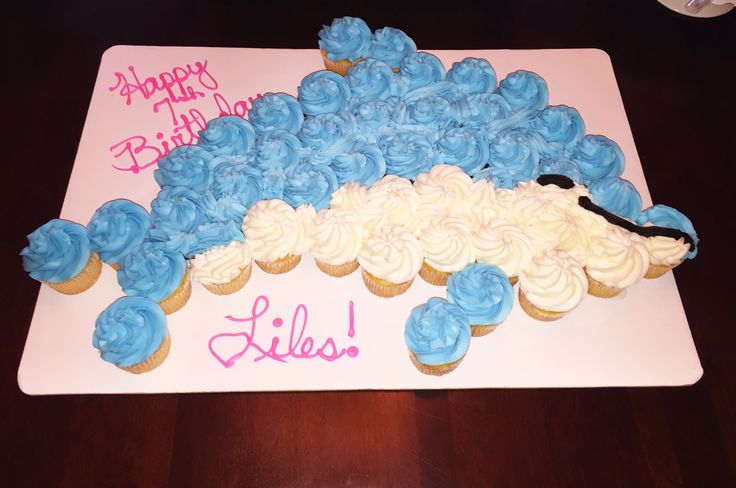 Cupcake Dolphin Cake - Harris Tetter