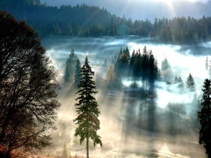 Winter in Transylvania - Borsec, Harghita #Transylvania