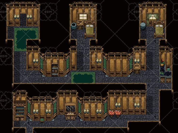 Wolfsong Tilesets GameDev Market Pixel design, Design