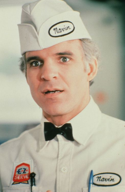 Steve Martin in 'The Jerk', 1979.  One of the silliest, side-splittingly funny movies, ever!