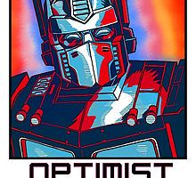 Optimist Prime! by Mel Dredd