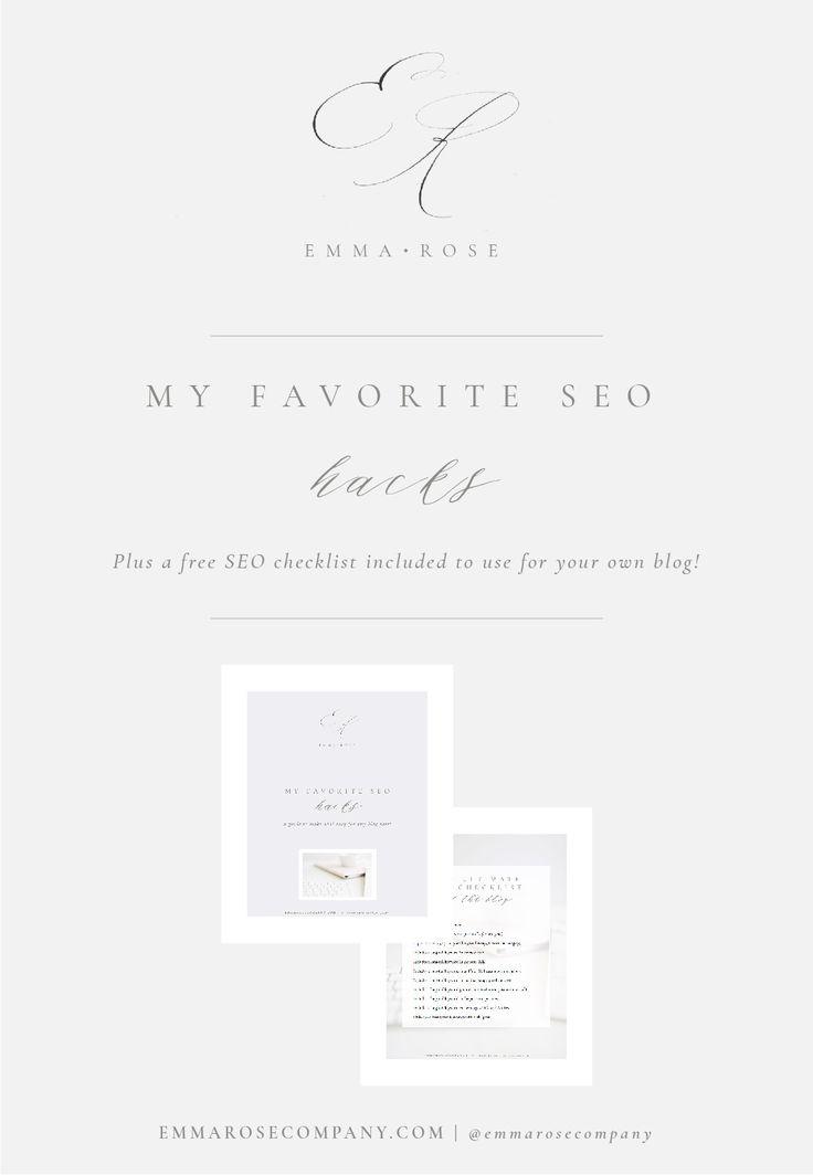 My Favorite SEO Hacks | Emma Rose Company | Blogging on Squarespace Tips and Tricks.jpg