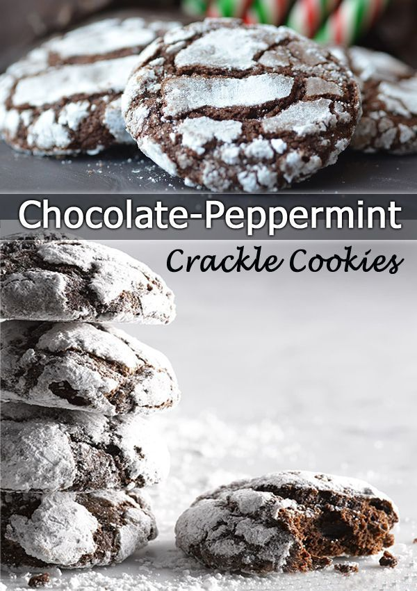 1000+ ideas about Chocolate Crackle Cookies on Pinterest | Crackle ...