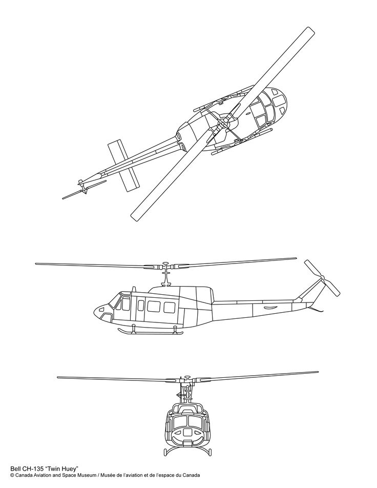 """Bell CH-135 """"Twin Huey"""" - Canada Aviation and Space Museum"""
