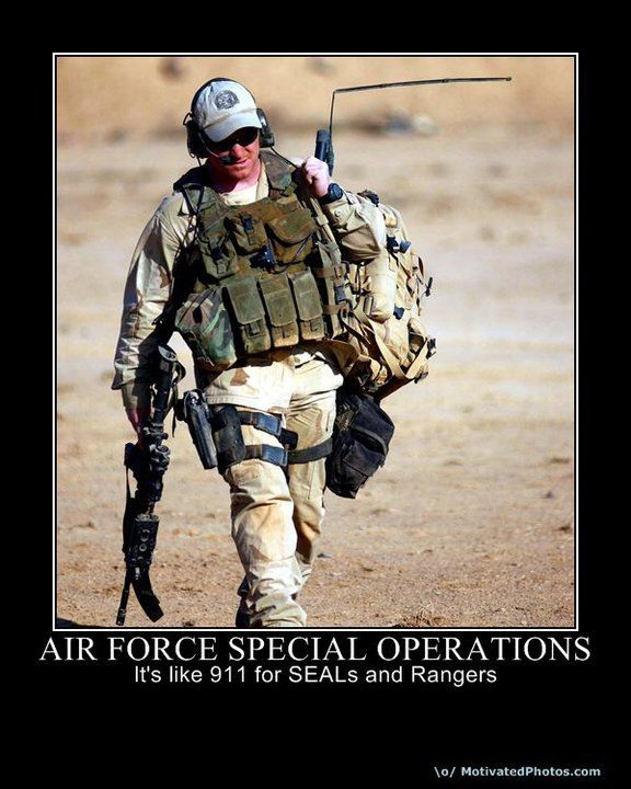 The Af has Special Ops People? Who would have known?