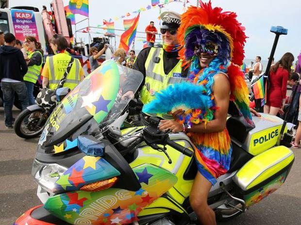 Brighton Pride in pictures: The best photos from the festival's 25th year - UK - News - The Independent