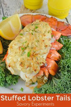Crab Stuffed Lobster Tails is the ideal dinner for a special occasion. You won't beleive how easy they are to make!