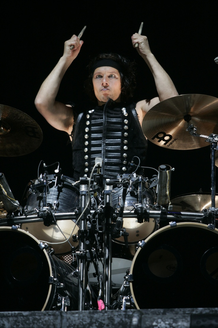 Christoph Doom Schneider Drumming Away And Getting The