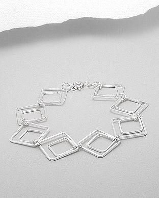 Sterling silver bracelet - silver vogue