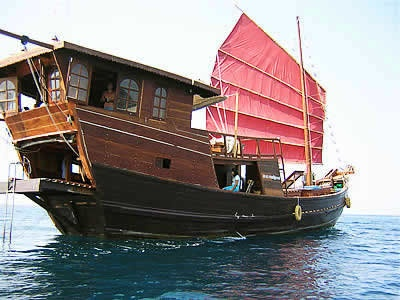 Chinese Junk Boat ~Repinned Via Gregory Farris