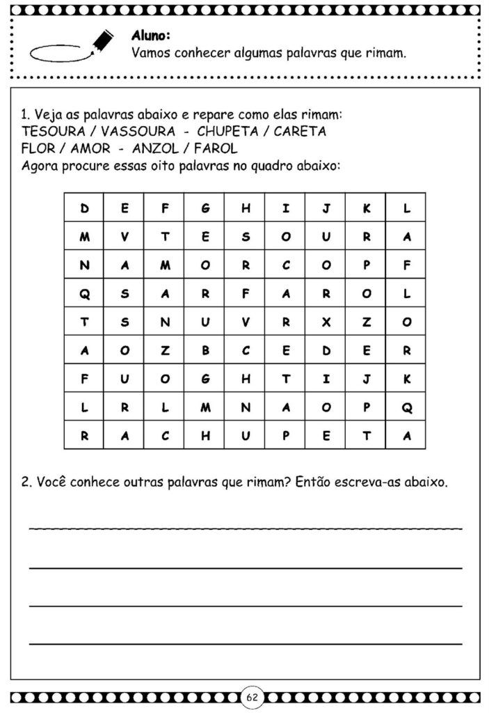 142 Atividades De Alfabetizacao Com Alfabeto Cursivo Atividades