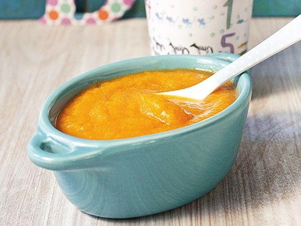 Crema di mele, carote e cipolle 6-8 mesi