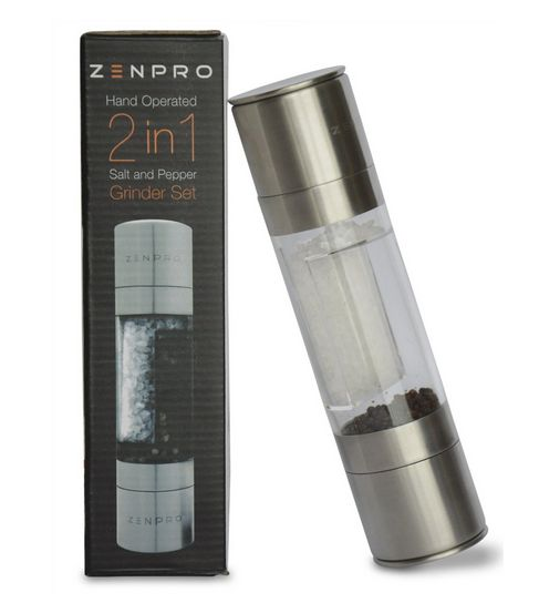 Christmas is just around the corner. You can give this ZENPRO Salt and Pepper Grinder to your loved ones. It's a perfect Christmas gift for your friends and family who loves to cook! Use this code: ZENPRO15 to get discounts when purchasing it on Amazon: http://www.amazon.com/Salt-Pepper-Grinder-Set-ZENPRO/dp/B00REPXX7G #saltandpeppergrinder #zenpro