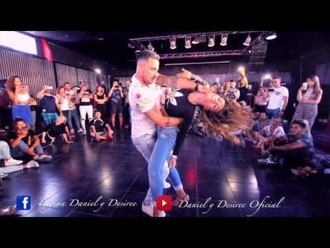 (406) DANIEL Y DESIREE - Felices los 4 (Bachata Dj Khalid) - YouTube