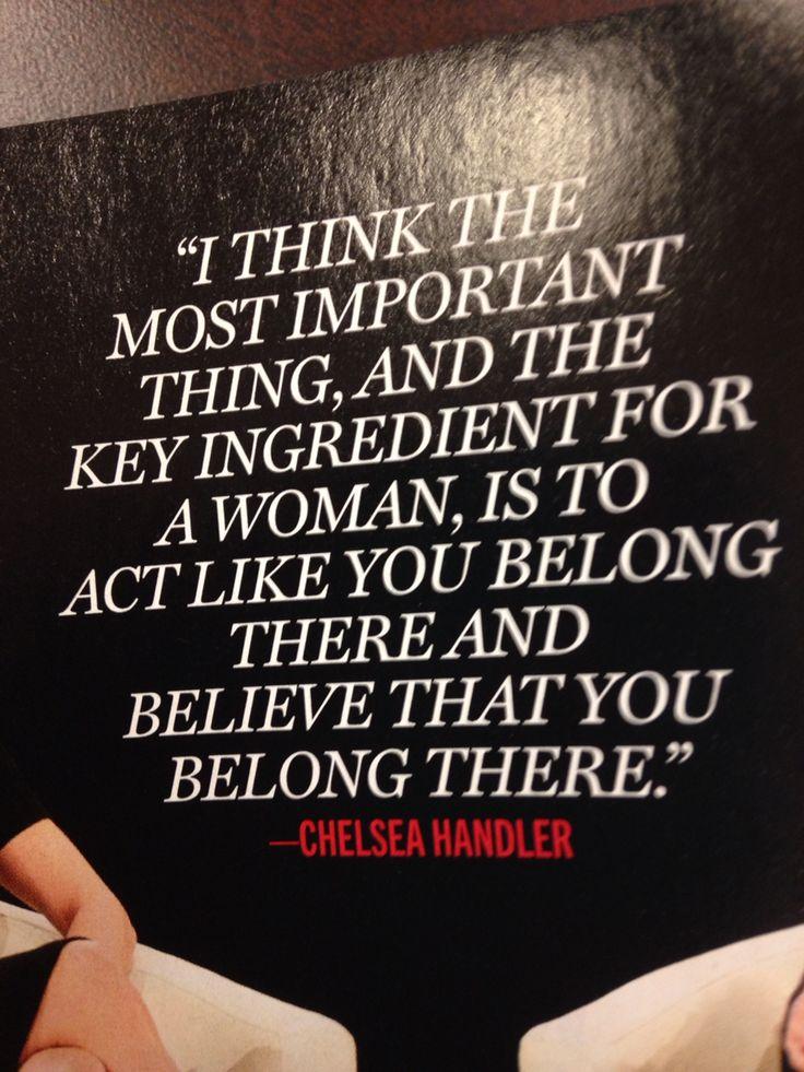 Chelsea Handler quote