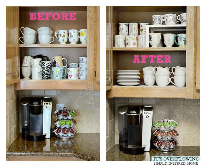 232 best kitchen cabinet organization images on pinterest kitchens organization ideas and on kitchen counter organization id=54863