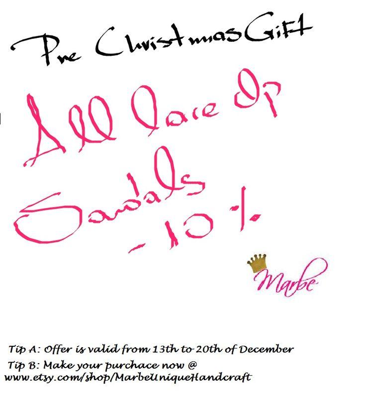 Pre Christmas Offer !!