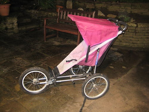 Baby Jogger 3 Wheel Running Pushchair Pram All Terrain