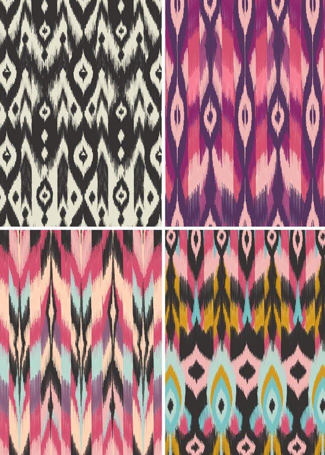 New: Bohemian Tribal Fabrics