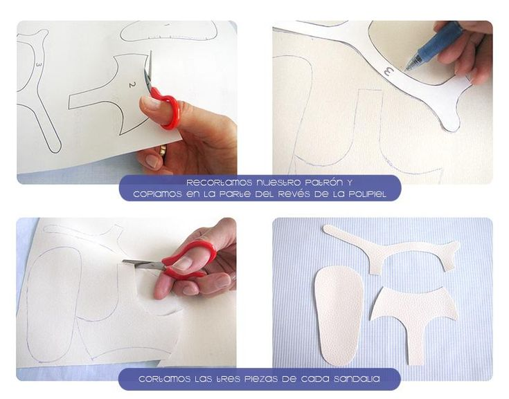 Cómo hacer unas sandalias de bebé Modelo Blanco | Aprender manualidades es facilisimo.com