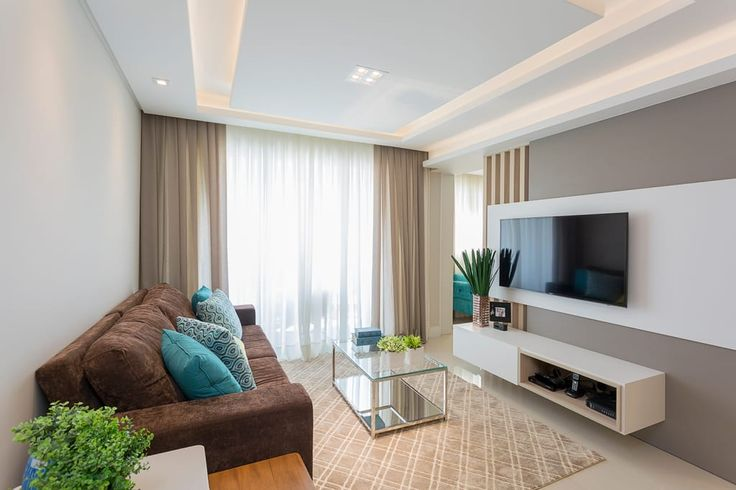 110 m2 ideais para uma família moderna (De Maria Miranda - HOMIFY)