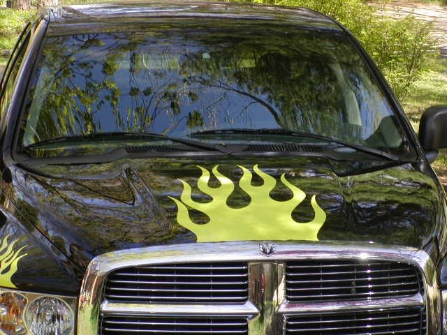 Best Trucks Images On Pinterest Vinyl Decals Lifted Trucks - Graphics for cars and trucksfull color flames graphics car truck decals truck decals