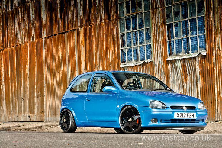 C20XE Vauxhall Corsa B modified tuned