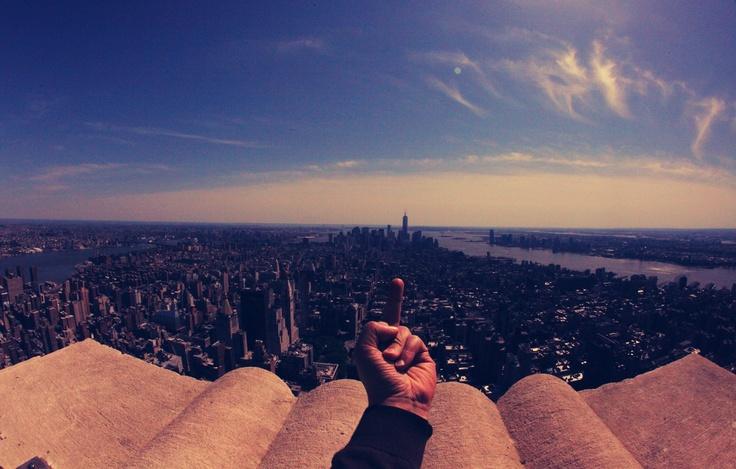 WTF Skyline - new york city