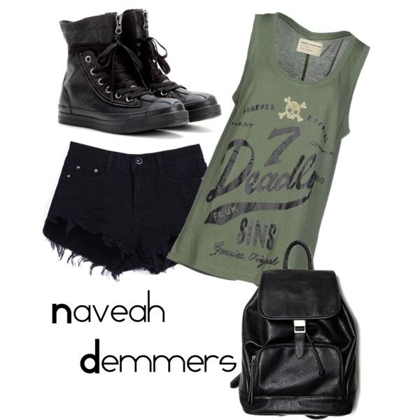 Untitled #29 by zuzulica on Polyvore featuring French Connection and Converse