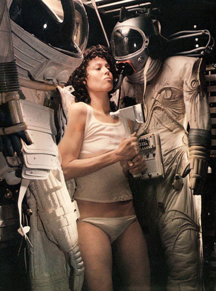 "Sigourney Weaver en ""Alien el octavo pasajero"" (Alien), 1979"