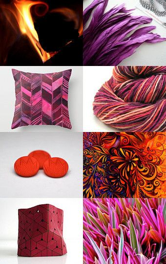 Feng shui fire element etsy treasury pinterest for Capitola convertible chaise sofa